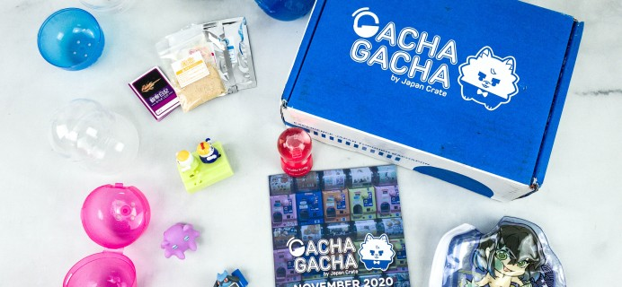 Gacha Gacha Crate November 2020 Subscription Box Review + Coupon