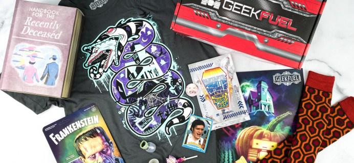 Geek Fuel October 2020 Review