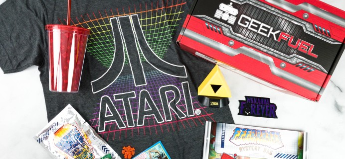 Geek Fuel September 2020 Subscription Box Review