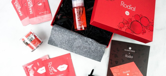 GLOSSYBOX 2020 Limited Edition Rodial Box Review