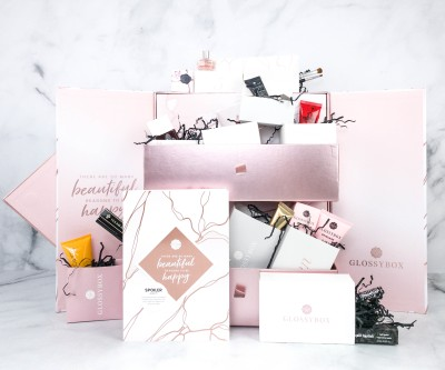 GLOSSYBOX 2020 Advent Calendar Review + Coupons