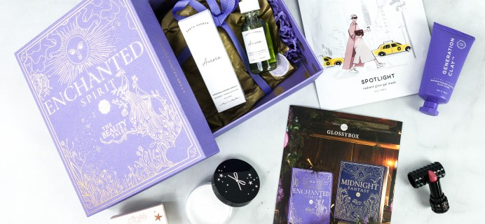 GLOSSYBOX October 2020 Subscription Box Review + Coupon