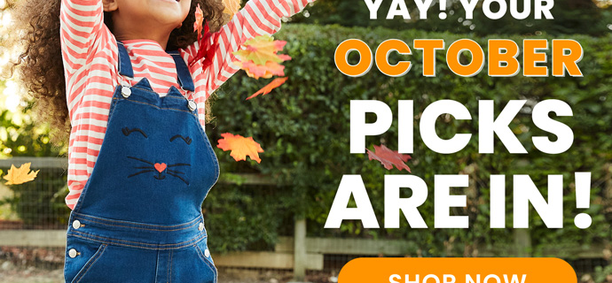 FabKids October 2020 Collection Reveal + Coupon!