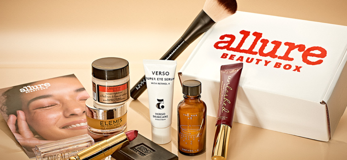 Allure Beauty Box Cyber Weekend Deal – HOURS LEFT for First Box HALF Off ($11.50 Shipped) + FREE Gift!