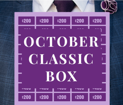 Gentleman's Box October 2020 Spoiler + Coupon!