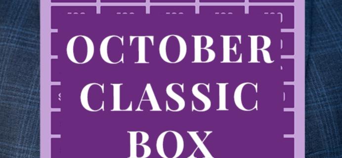 Gentleman's Box October 2020 Spoiler + Coupon!
