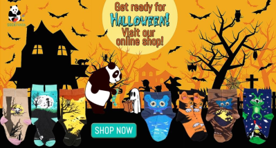 Sock Panda Halloween Sale: Get 20% Off!