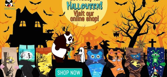 Sock Panda Halloween Sale: Get 20% Off!