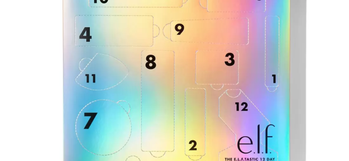 2020 ELF Cosmetics 12 Day Advent Calendar Available Now + Full Spoilers!