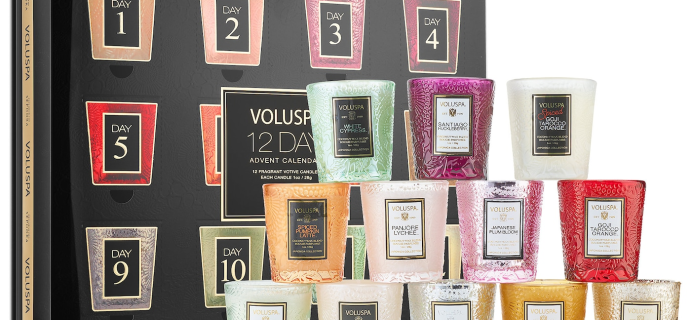 2020 Voluspa Advent Calendar Available Now + Full Spoilers!