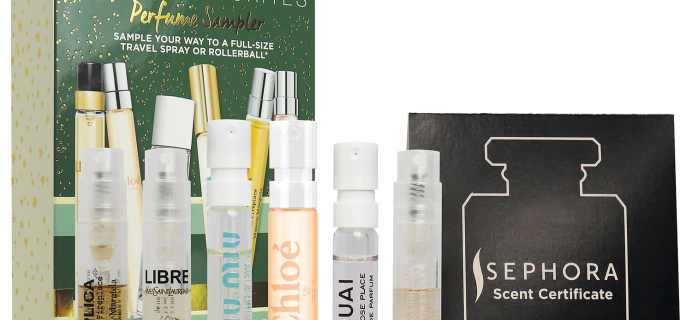 Sephora Favorites Mini Holiday Perfume Travel Set Available Now + Coupons!