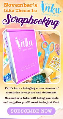 Inku Crate November 2020 Spoilers + Coupon!