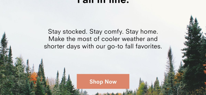Public Goods Fall Favorites Collection Available Now + Coupon!
