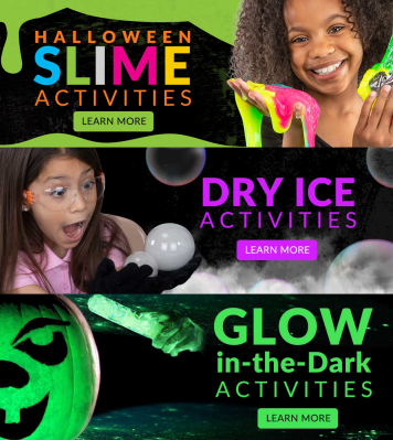 Spangler Science Club Halloween Kits Available Now!