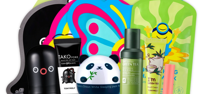 Tony Moly October 2020 Monthly Bundle Available Now + Full Spoilers!