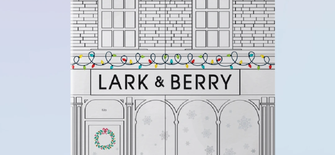 2020 Lark & Berry Advent Calendar Available Now!