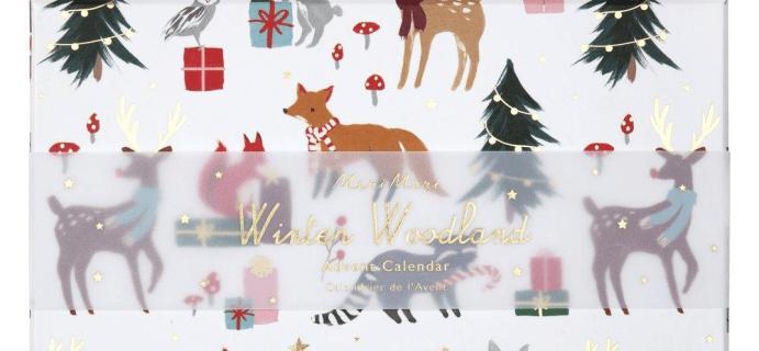 2020 Meri Meri Woodland Advent Calendar Available Now + Spoilers!