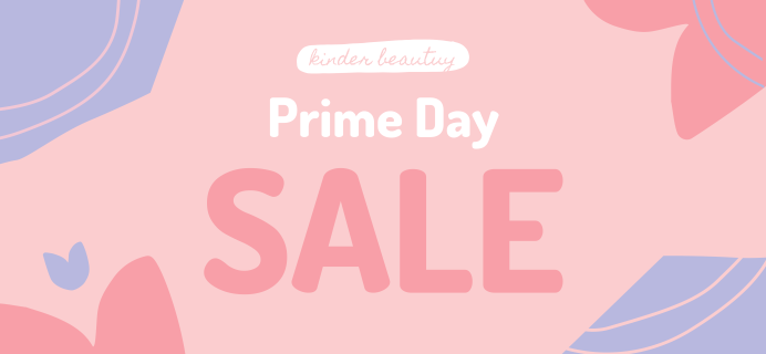 Kinder Beauty Box Prime Day Sale: Get $10.13 Off 3+ Month Subscriptions OR Any Gift Plans!