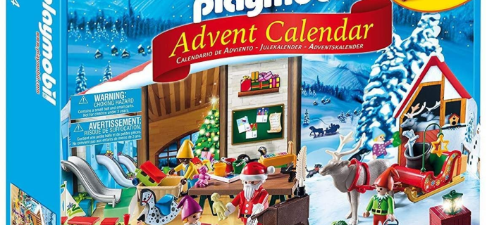 Playmobil Santa's Workshop Advent Calendar Prime Day Deal!