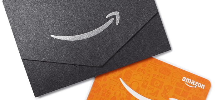 Amazon 2020 Prime Day Deal: Get $10 Credit with $40 Amazon Gift Card Purchase!