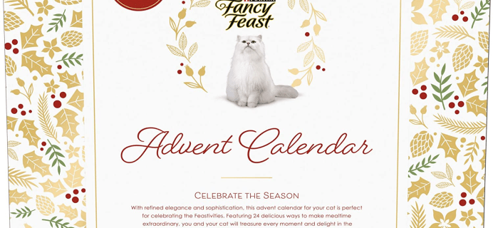 2020 Fancy Feast Feastivities Advent Calendar for Cats Available Now!