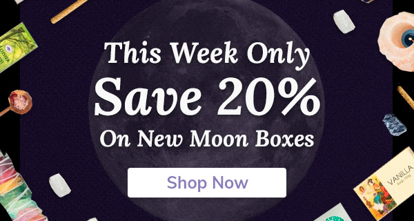 Cratejoy Sale: Save 20% On New Moon Subscription Boxes!