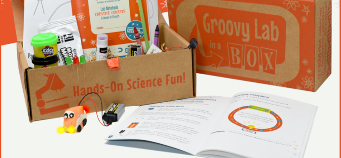 Groovy Lab In A Box Young Creator Series Available Now!