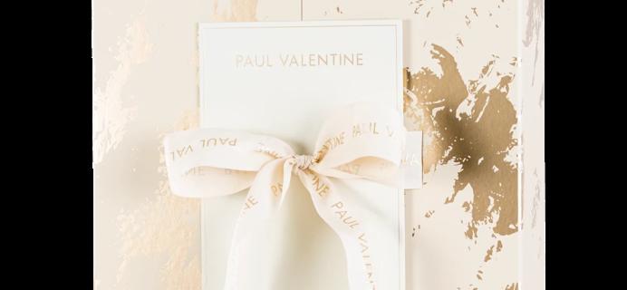 2020 Paul Valentine Advent Calendar Available Now + Spoilers!
