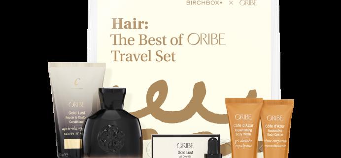 New Birchbox X Oribe Travel Set Available Now!
