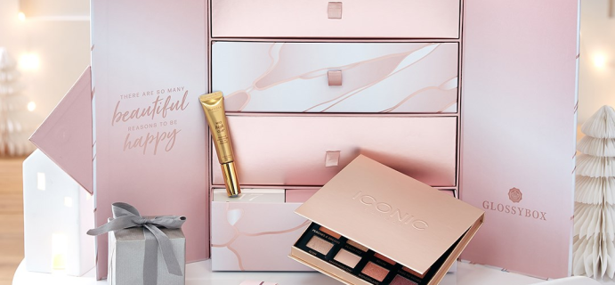 GLOSSYBOX Deal: Save Up To $47 On GLOSSYBOX Advent Calendar!