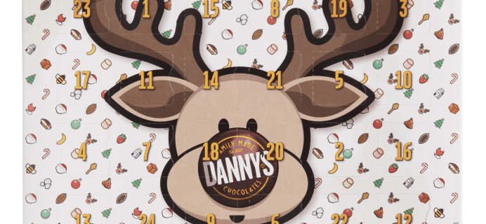 Danny's Milk Chocolate Reindeer Advent Calendar Available Now!
