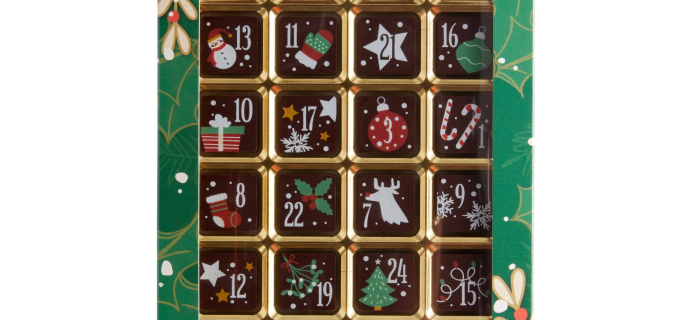 Weibler Dark Chocolate Advent Calendar Available Now!