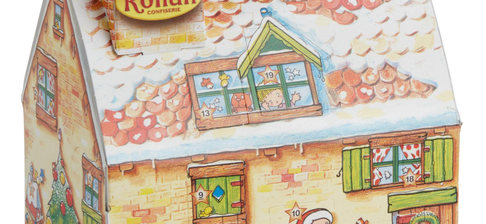 Confiserie Rohan Chocolate Holiday Cottage Advent Calendar Available Now!