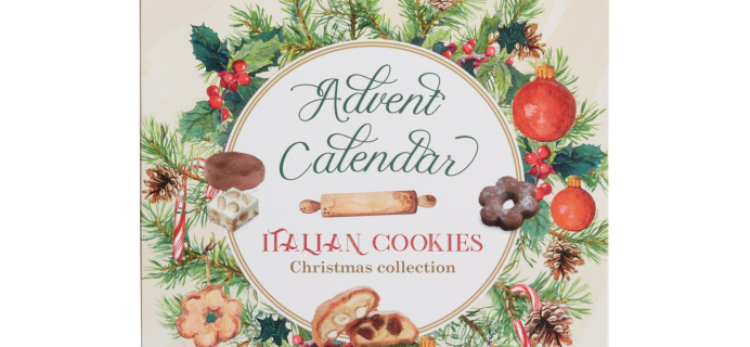 Borgo De' Medici Italian CookieAdvent Calendar Available Now!