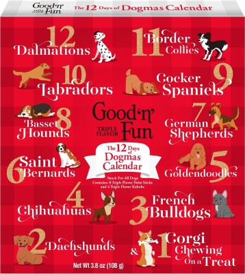 Good 'n' Fun Holiday 12 Days of Dogmas Advent Calendar Available Now!