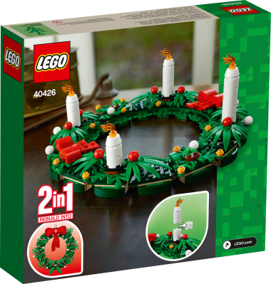 LEGO Advent Wreath Available Now!