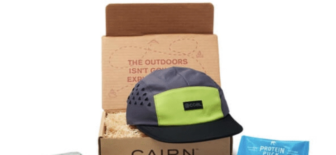 Cairn Coupon: Save $10 On Your First Box!
