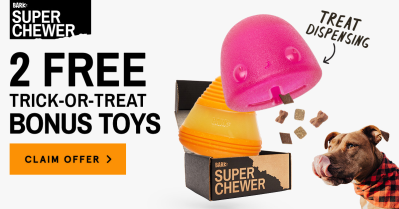 BarkBox Super Chewer Coupon: Get 2 FREE Halloween Bonus Toys With Subscription!
