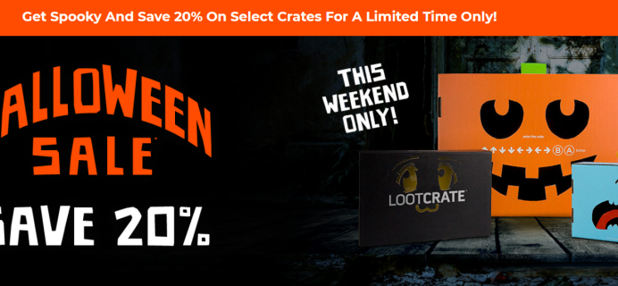 Loot Crate Halloween Sale: Get 20% Off!