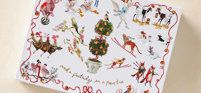 2020 AnthropologieInslee Fariss Candle Advent Calendar Available Now + Spoilers!