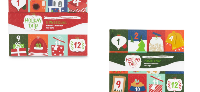 2020 Petco Advent Calendars for Dogs & Cats Available Now!