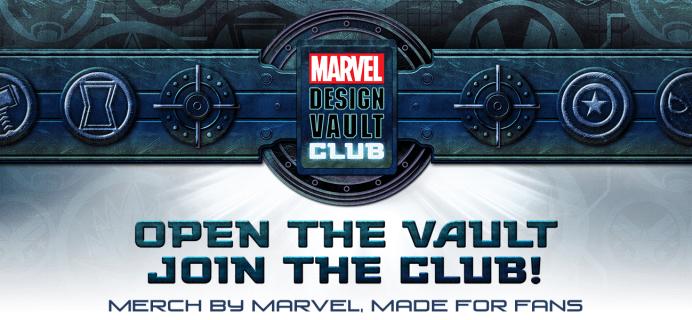 Marvel Design Vault Club T-Shirt Club: For The Ultimate MCU Super Hero Fans!