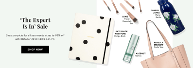 FabFitFun The Expert Is In Sale: Get Up To 70% Off!
