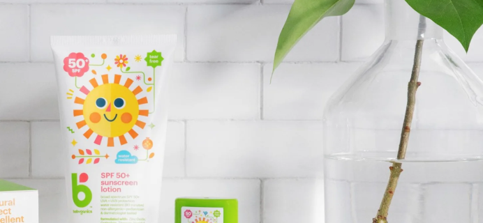 FREE Babyganics Sunscreen SPF 50 with Grove Collaborative $30 Purchase!