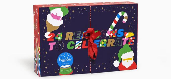 2020 Happy Socks Advent Calendar Available Now!