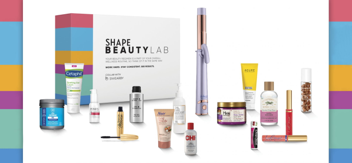 SHAPE Beauty Lab Box Fall 2020 Box Available Again + Full Spoilers!