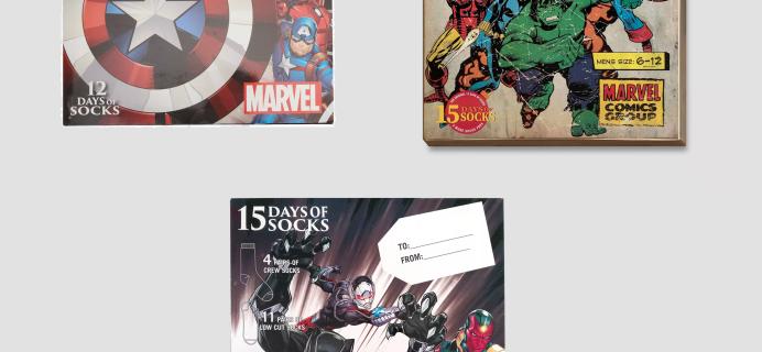 New 2020 Marvel Socks Advent Calendars Available Now! {Men's}