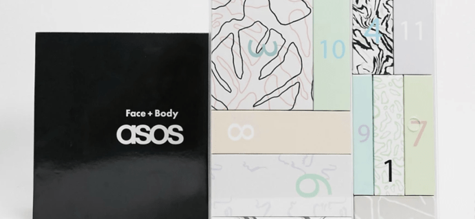 ASOS Face + Body Beauty Advent Calendar 2020 Available Now + Full Spoilers!