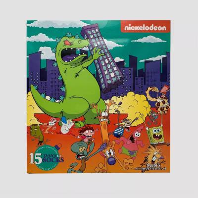 2020 Nickelodeon Socks Advent Calendar Available Now! {Men's}