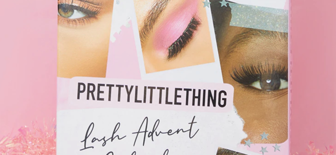 PrettyLittleThing 2020 Lash Advent Calendar Available Now + Full Spoilers!